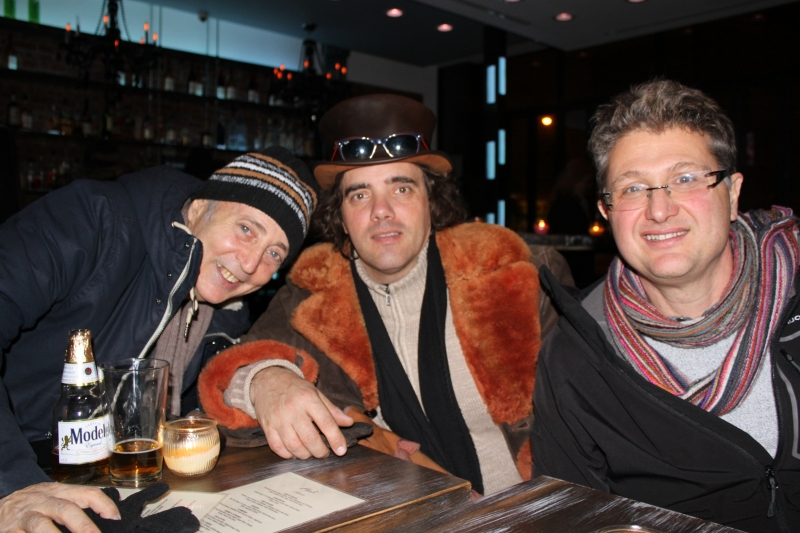 in NYC with Jonathan Kalb & Jean-Yves Soler