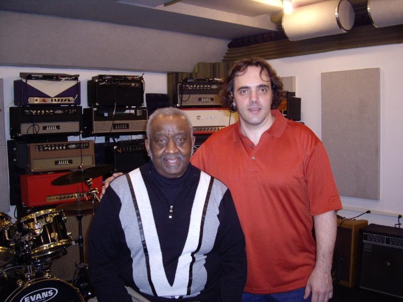 avec Bernard Purdie à New-York